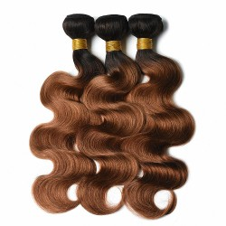 Tissage Ombre Hair ondulé 1B/30