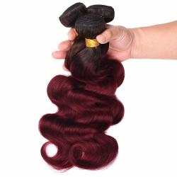 Tissage Ombre Hair ondulé 1B/99J