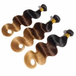 Tissage Ombre Hair ondulé 1B/4/27