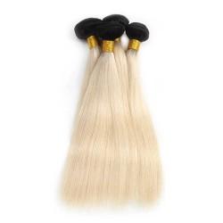 Tissage coloré ombre hair Lisse 1B/27